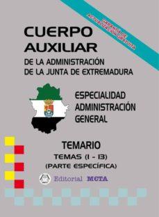 Viamistica.es Auxiliares Administración General (Temas 1 - 13) (Temario) Image