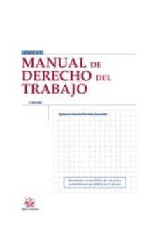 Valentifaineros20015.es Manual Derecho Del Trabajo (2ª Ed.) Actualizado A La Ley 3/2012, De 6 De Julio Y Al Real Decreto-ley 20/2012, De 13 De Julio. Image