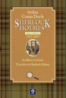 Ebooks para iphone SHERLOCK HOLMES. OBRAS COMPLETAS (1917-1927) de ARTHUR CONAN DOYLE in Spanish 9788497944427