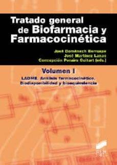 Audiolibros gratis para descargar TRATADO GENERAL DE BIOFARMACIA Y FARMACOCINETICA I (Spanish Edition) 9788499589527