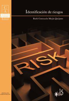 identificación de riesgos (ebook)-rubi consuelo mejia quijano-9789587201727