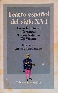 Titantitan.mx Teatro Español Del Siglo Xvi Image