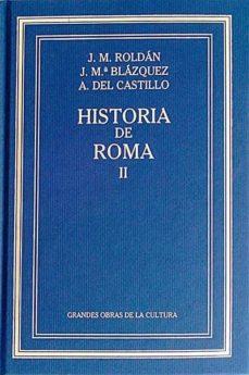 HISTORIA DE ROMA II - VVAA | Adahalicante.org