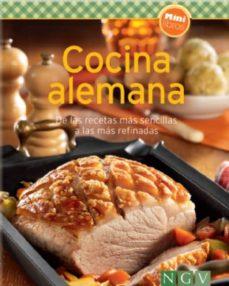 cocina alemana: de las recetas mas sencillas a las mas refinadas: minilibros de cocina-9783625006237