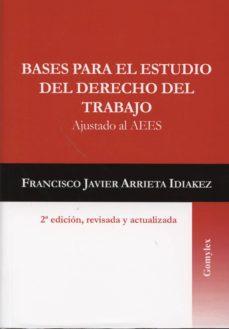 Alienazioneparentale.it Bases Para El Estudio Del Derecho Del Trabajo (2º Ed.) Image