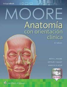 anatomía con orientación clínica (8ª edicion)-keith l. moore-9788417033637