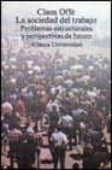 Cronouno.es La Sociedad Del Trabajo: Problemas Estructurales Y Perspectivas.. Image
