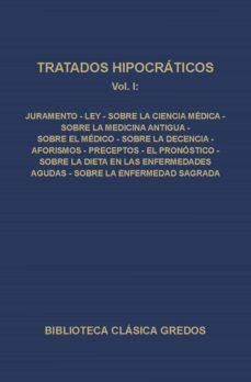 tratados hipocráticos i (ebook)-9788424930837