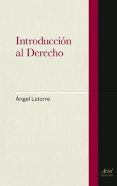 Descargar INTRODUCCION AL DERECHO gratis pdf - leer online