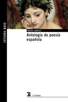 Descarga libros de inglés gratis. ANTOLOGÍA DE POESÍA ESPAÑOLA de  ePub CHM FB2 9788437633237