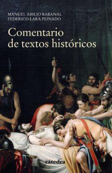 Lofficielhommes.es Comentario De Textos Historicos (4ª Ed.) Image