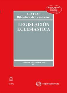 Ojpa.es Legislacion Eclesiastica (23ª Ed) Image