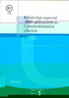 Chapultepecuno.mx Relativitat Especial Amb Aplicacions A L Electrodinamica Classica Image