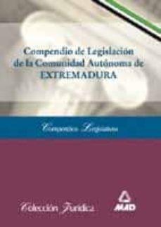 Alienazioneparentale.it Compendio De Legislacion De La Comunidad Autonoma De Extremadura Image