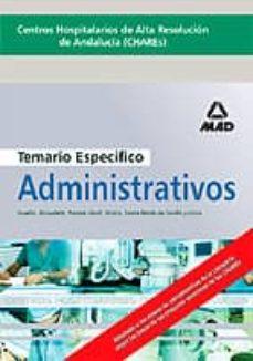 Titantitan.mx Centros Hospitalarios De Alta Resolucion De Andalucia (Chares): T Emario Especifico De Administrativos Image