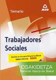Encuentroelemadrid.es Trabajadores Sociales Del Servicio Vasco De Salud-osakidetza: Tem Ario Image
