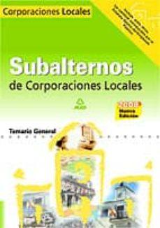 Srazceskychbohemu.cz Subalternos De Corporaciones Locales: Temario General Image