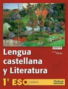 Geekmag.es Lengua Y Literatura: Proyecto Adarve (Cota) 3º Eso (Andalucia) Libro Alumno 2010 Image