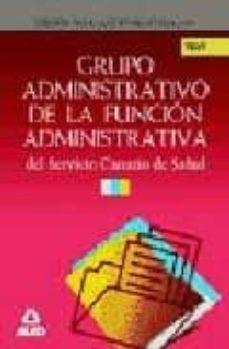 Cdaea.es Grupo Administrativo De La Funcion Administrativa Del Servicio Ca Nario De Salud: Test Image