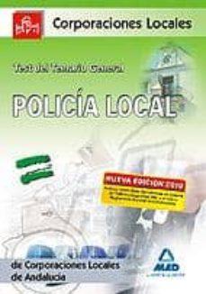 Inmaswan.es Policia Local De Andalucia. Test Del Temario General Image