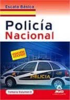 Cronouno.es Escala Basica De Policia Nacional. Temario. Volumen Ii Image