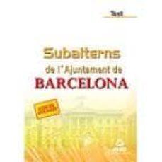 Permacultivo.es Subalterns De L´ajuntament De Barcelona. Temari Image