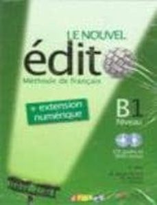 le nouvel edito b1 (livre+cd+dvd)-elodie heu-9788477117537