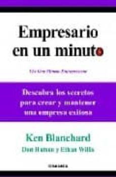 empresario en un minuto-ken blanchard-9788483581537