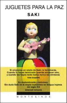 juguetes para la paz (montesinos)-9788496356337