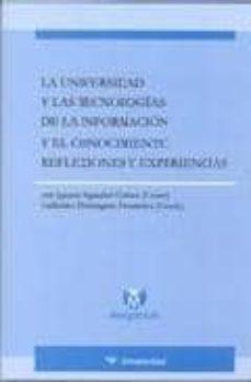 Vinisenzatrucco.it La Universidad Y Las Tecnologias De La Informacion Y El Conocimie Nto. Reflexiones Y Experiencias Image