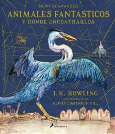 animales fantasticos y donde encontrarlos (ilustrado)-j.k. rowling-9788498388237