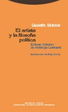 el artista y la filosofia politica: el buen gobierno de ambrogio lorenzetti-quentin skinner-9788498790337