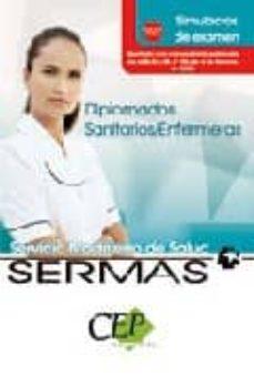 Vinisenzatrucco.it Simulacros De Examen Oposiciones Diplomados Sanitarios/enfermera. Servicio Madrileño De Salud. (Sermas) Image