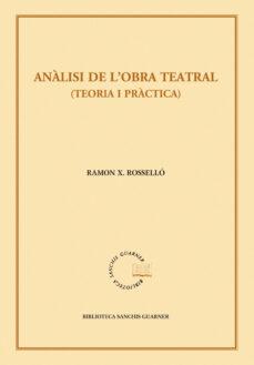 Relaismarechiaro.it Analisi De L Obra Teatral. Teoria I Practica. 2ª Edicio Image