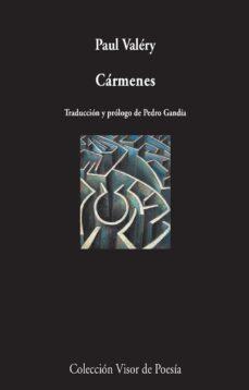 Descargas gratuitas de libros electrónicos para el nook CARMENES (ED. BILINGÜE FRANCES - ESPAÑOL) de PAUL VALERY  9788498959437