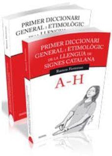 Permacultivo.es Primer Diccionari General I Etimològic De La Llengua De Signes Catalana. Obra Completa (2 Volums) Image