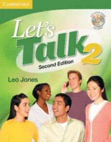 Libros gratis descargables de longitud completa LET S TALK STUDENT S BOOK 2 WITH SELF-STUDY AUDIO CD 2ND ED. in Spanish  de