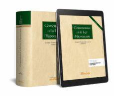 Descarga electrónica de libros electrónicos. COMENTARIOS A LA LEY HIPOTECARIA de ANDRÉS. DOMÍNGUEZ LUELMO