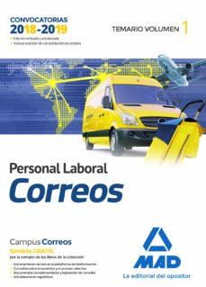 personal laboral de correos y telegrafos: temario (vol. 1)-9788414214947