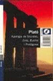 Concursopiedraspreciosas.es Apologia De Socrates, Crito, Eutifre I Protagores Image