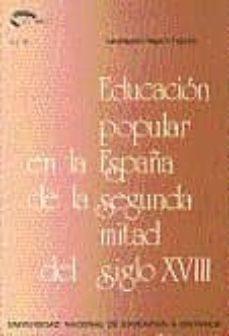 Mrnice.mx Educacion Popular En La España De La Segunda Mitad Del S. Xviii Image