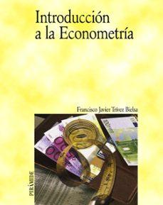 introduccion a la econometria-francisco javier trivez bielsa-9788436817447