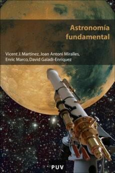 astronomia fundamental-vicent j. martinez perez-9788437061047