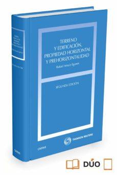 terreno y edificacion propiedad horizontal y prehorizontalidad (2ª ed.)-rafael arnaiz eguren-9788447052547