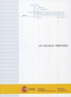 ley general tributaria-ministerio de hacienda-9788447607747