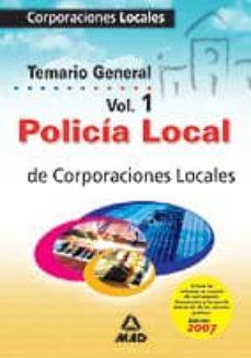 Debatecd.mx Policia Local: Corporaciones Locales. Temario (Vol. I) Image