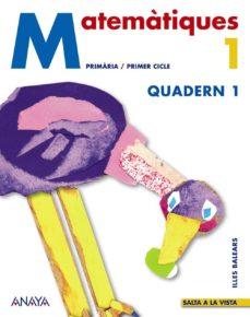 Bressoamisuradi.it Matemàtiques 1 (Quadern 1) (Illes Balears) Image