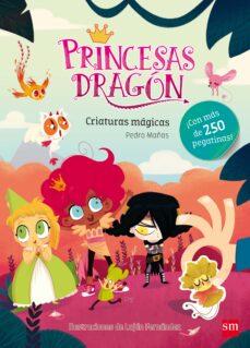 Premioinnovacionsanitaria.es Princesas Dragon :Criaturas Magicas(pegatinas) Image