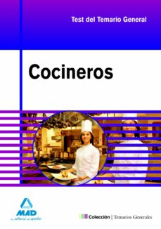 cocineros. test y casos practicos del temario general-9788467622447