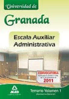 Iguanabus.es Escala Auxiliar Administrativa De La Universidad De Granada: Tema Riio Image
